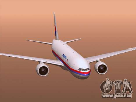 Boeing 777-2H6ER Malaysia Airlines pour GTA San Andreas roue