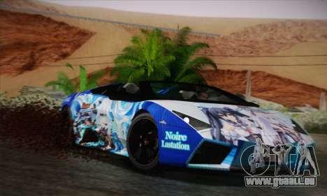 Lamborghini Reventon Black Heart Edition für GTA San Andreas