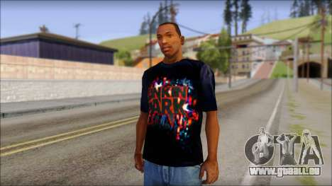 Linkin Park T-Shirt pour GTA San Andreas