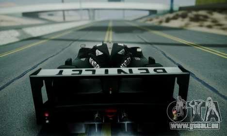 Bentley Speed 8 2003 pour GTA San Andreas vue arrière