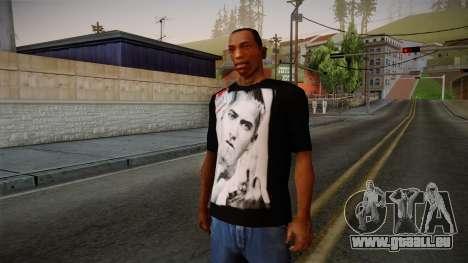 Eminem Fuck Off T-Shirt für GTA San Andreas