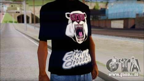 Eskimo Callboy Eisbaer T-Shirt für GTA San Andreas dritten Screenshot