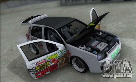 Volkswagen Golf MK4 R32 pour GTA San Andreas salon