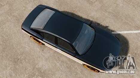 Bravado Buffalo Watch Dogs Black Viceroys für GTA 4 rechte Ansicht