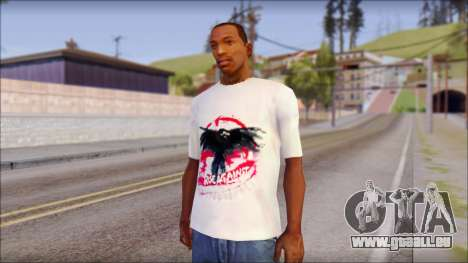 Rise Against T-Shirt V2.1 pour GTA San Andreas