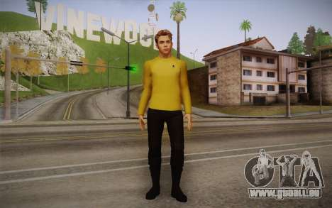 James T. Kirk From Star Trek für GTA San Andreas