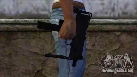 Mac-10 from CS:GO v2 pour GTA San Andreas troisième écran