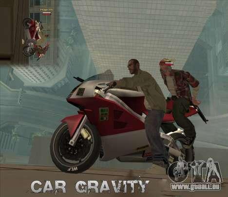 Car Grav Hack pour GTA San Andreas