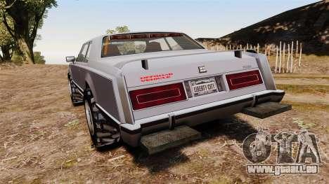 Dundreary Virgo Cliffrider pour GTA 4 Vue arrière de la gauche