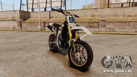 Yamaha YZF-450 v1.6 pour GTA 4