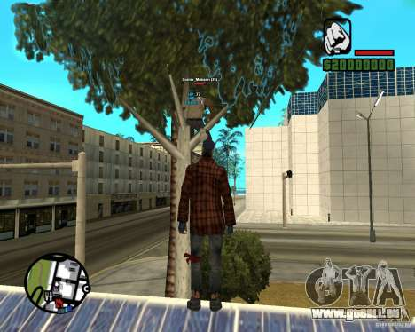 Players Informer für GTA San Andreas dritten Screenshot