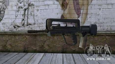 Famas from CS:GO v2 pour GTA San Andreas