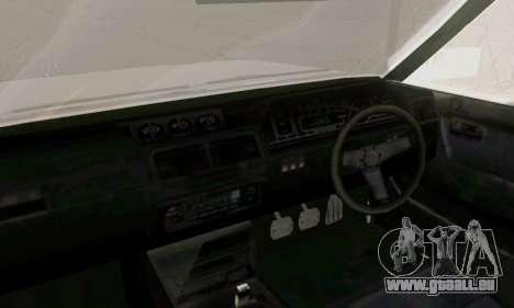 Toyota Cressida 1987 für GTA San Andreas zurück linke Ansicht