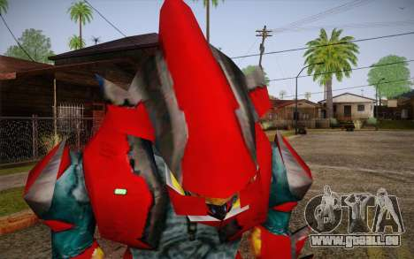 Red Elite v2 pour GTA San Andreas troisième écran