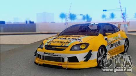 Chevrolet Cobalt SS pour GTA San Andreas vue arrière