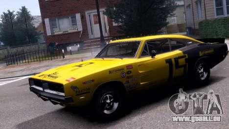 Dodge Charger RT 1969 EPM pour GTA 4 est un droit