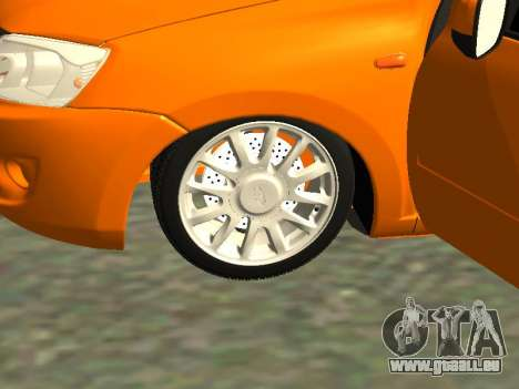 Lada Granta pour GTA San Andreas vue arrière
