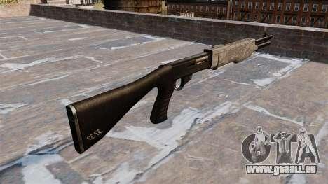 Le fusil de chasse Franchi SPAS-12 ACU Camouflag pour GTA 4 secondes d'écran