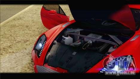 Aston Martin One-77 2010 pour GTA San Andreas roue