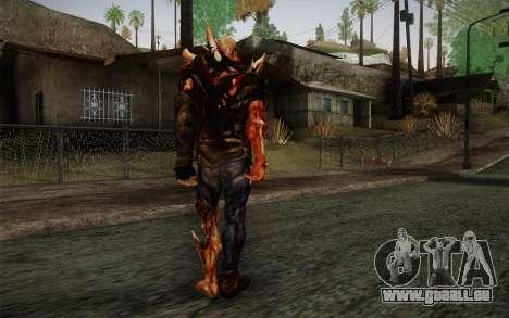 Zombie Heller from Prototype 2 pour GTA San Andreas deuxième écran