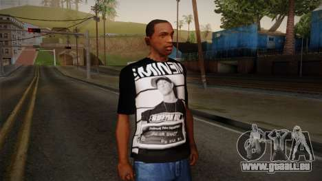 Eminem T-Shirt pour GTA San Andreas