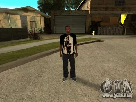T-Shirt Supernatural für GTA San Andreas dritten Screenshot