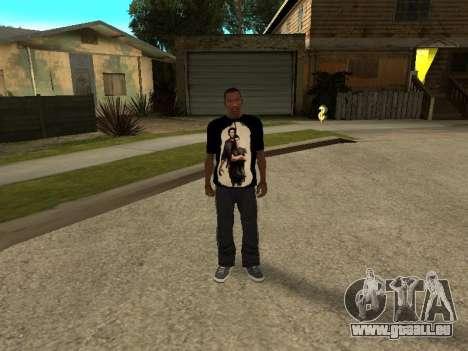 T-Shirt Supernatural für GTA San Andreas dritten Screenshot