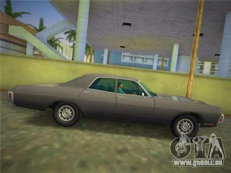 Dodge Polara 1971 für GTA Vice City rechten Ansicht