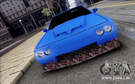 Buffalo Drift Style pour GTA San Andreas laissé vue