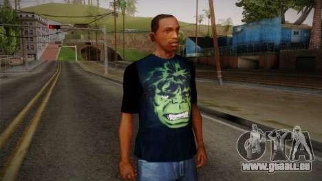 HULK T-Shirt für GTA San Andreas