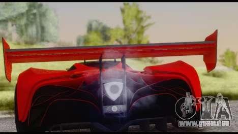 Mazda Furai 2008 pour GTA San Andreas vue de droite