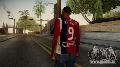 Ateliers de Cordoue Shirt pour GTA San Andreas deuxième écran