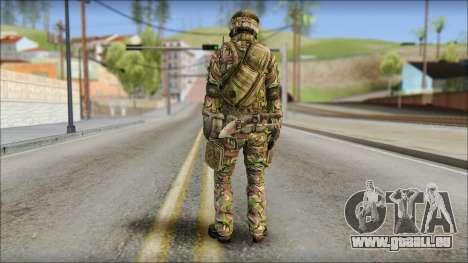 Forest SAS from Soldier Front 2 für GTA San Andreas zweiten Screenshot