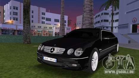 Mercede-Benz CL65 AMG Limousine für GTA Vice City