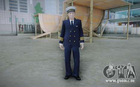 Commercial Airline Pilot from GTA IV pour GTA San Andreas