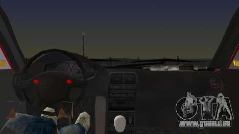 Skoda Superb Tuned pour GTA Vice City sur la vue arrière gauche
