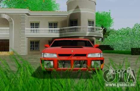 Sultan Coupe für GTA San Andreas Rückansicht