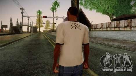 Chucks Anon Family T-Shirt für GTA San Andreas zweiten Screenshot