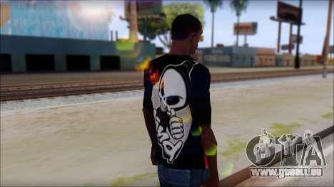 Blind Shirt für GTA San Andreas zweiten Screenshot