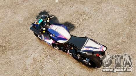 Yamaha YZF-R1 PJ2 pour GTA 4 est un droit