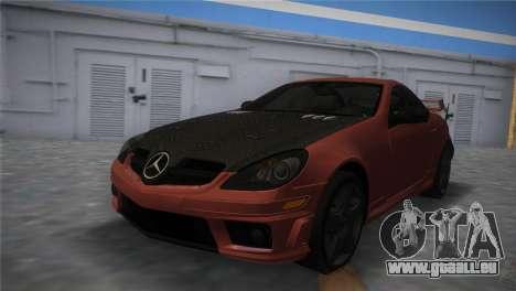 Mercedes-Benz SLK55 AMG Tuned für GTA Vice City