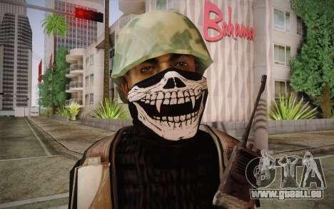 Antrax pour GTA San Andreas troisième écran