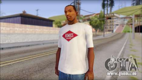 CM Punk T-Shirt für GTA San Andreas