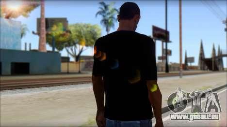Boy Eagle T-Shirt pour GTA San Andreas deuxième écran