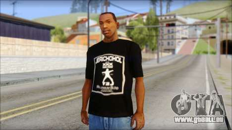 Chris Jericho Jerichohol T-Shirt für GTA San Andreas