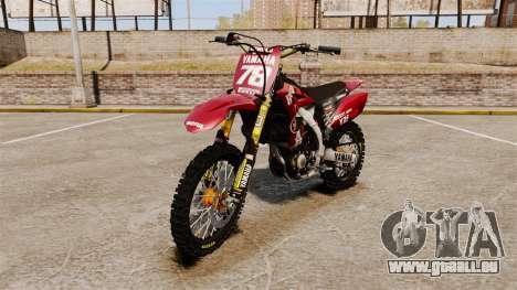 Yamaha YZF-450 v1.11 für GTA 4
