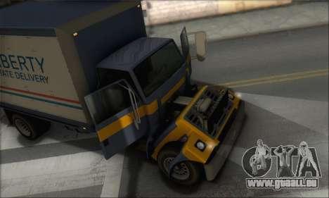 GTA IV Yankee für GTA San Andreas Rückansicht