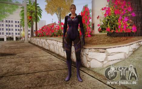 Jill Valentine from Resident Evil pour GTA San Andreas