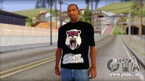 Eskimo Callboy Eisbaer T-Shirt für GTA San Andreas