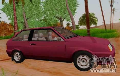 VAZ 21083 pour GTA San Andreas laissé vue